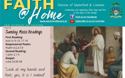 Faith at Home Newsletter – 3rd Sunday of Easter